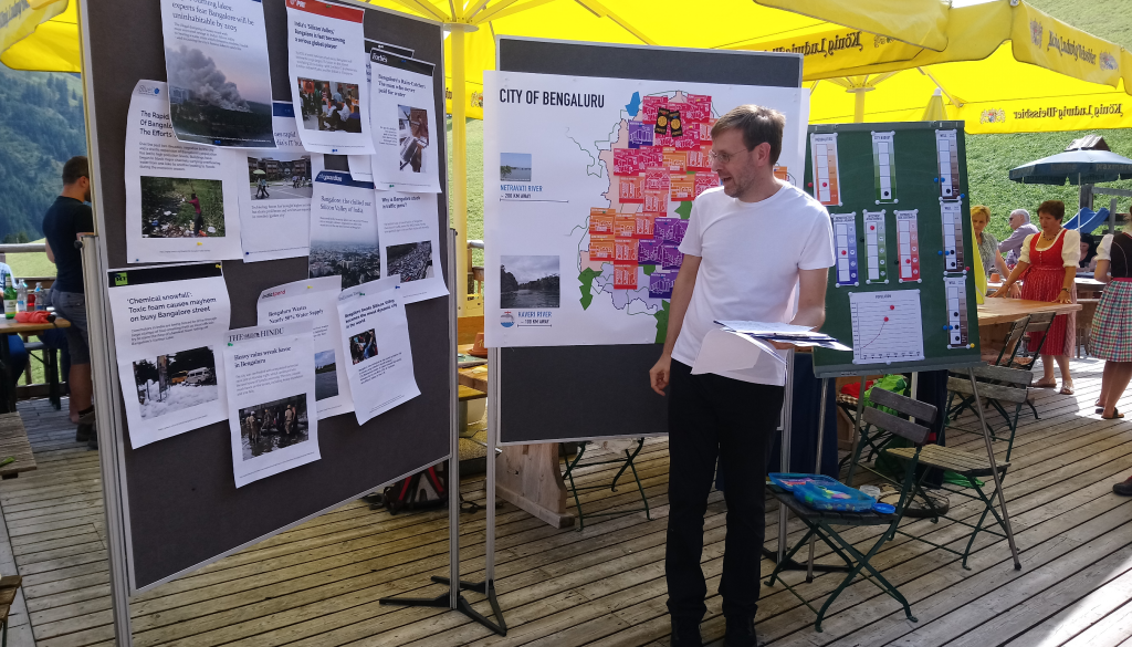 Bengaluru Quest at the European Forum Alpbach
